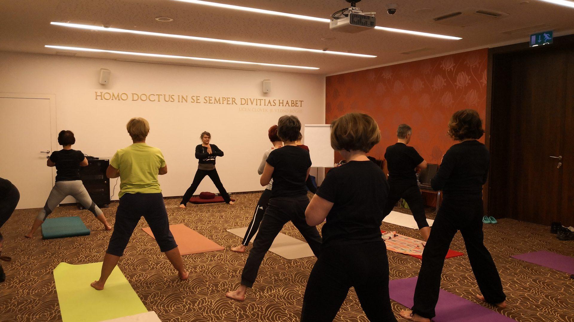 Vikend delavnica zen yoge, masaže in meditacije